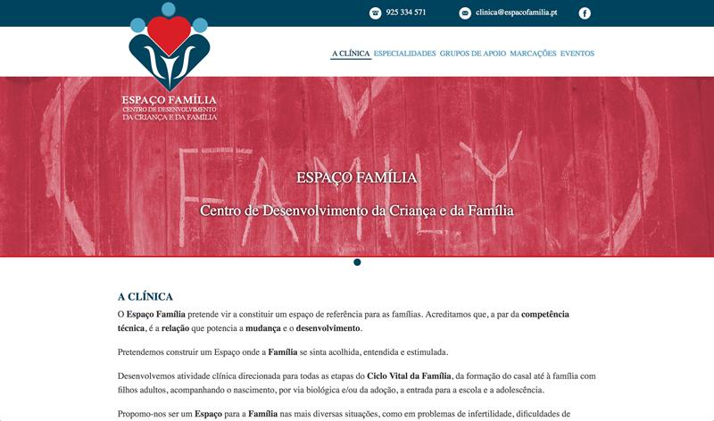 ESPAÇO FAMÍLIA Centro de Desenvolvimento da Criança e da Família